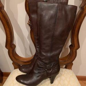 NEW Naturalizer brown wide shaft comfort boot